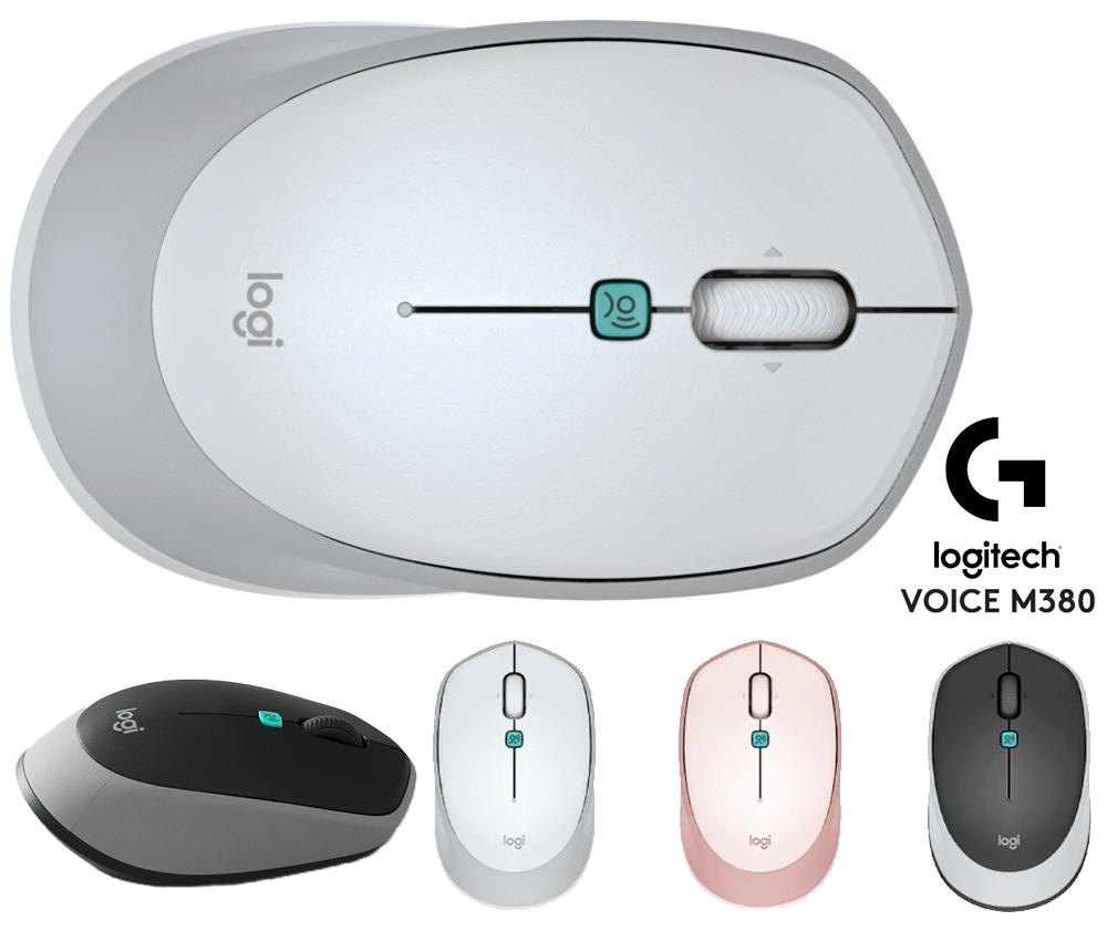 Mouse Logitech Voice M380 com Reconhecimento de Voz