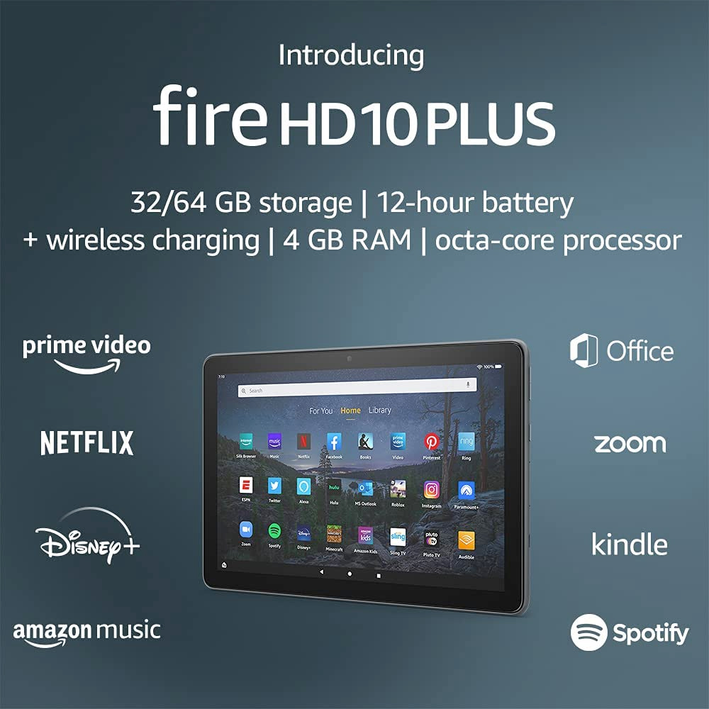 Tablets Fire HD 10 e 10 Plus Amazon
