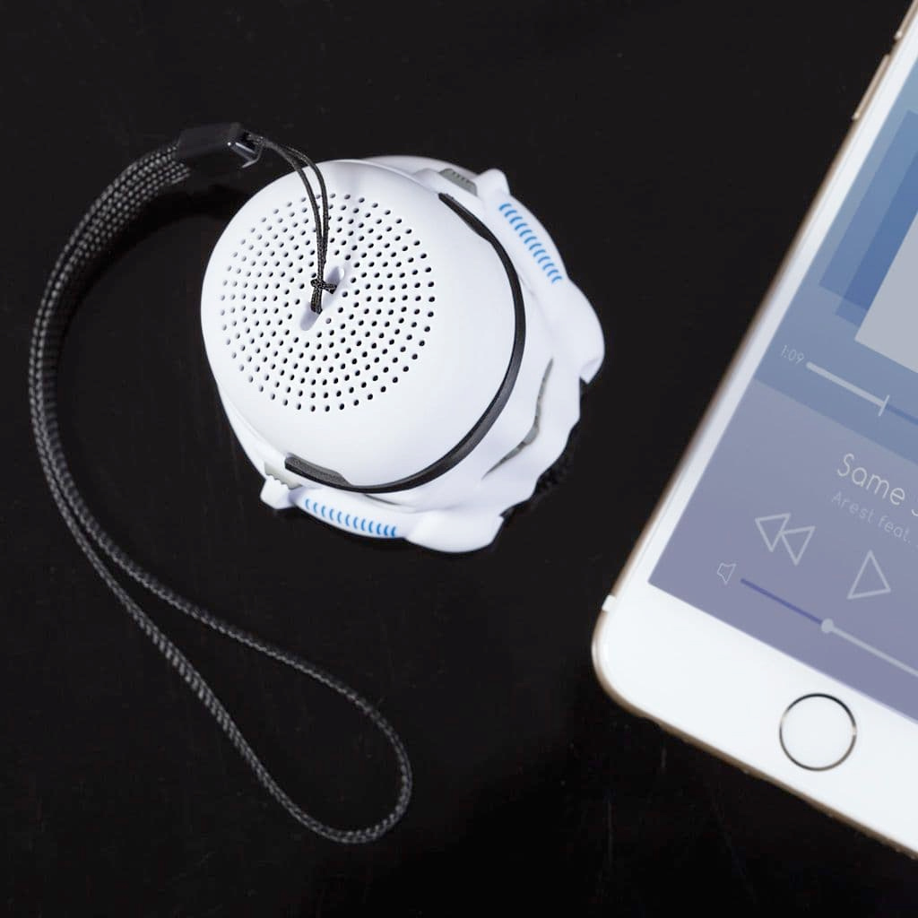 Mini Caixa de Som Original Stormtrooper Mini Bluetooth Speaker