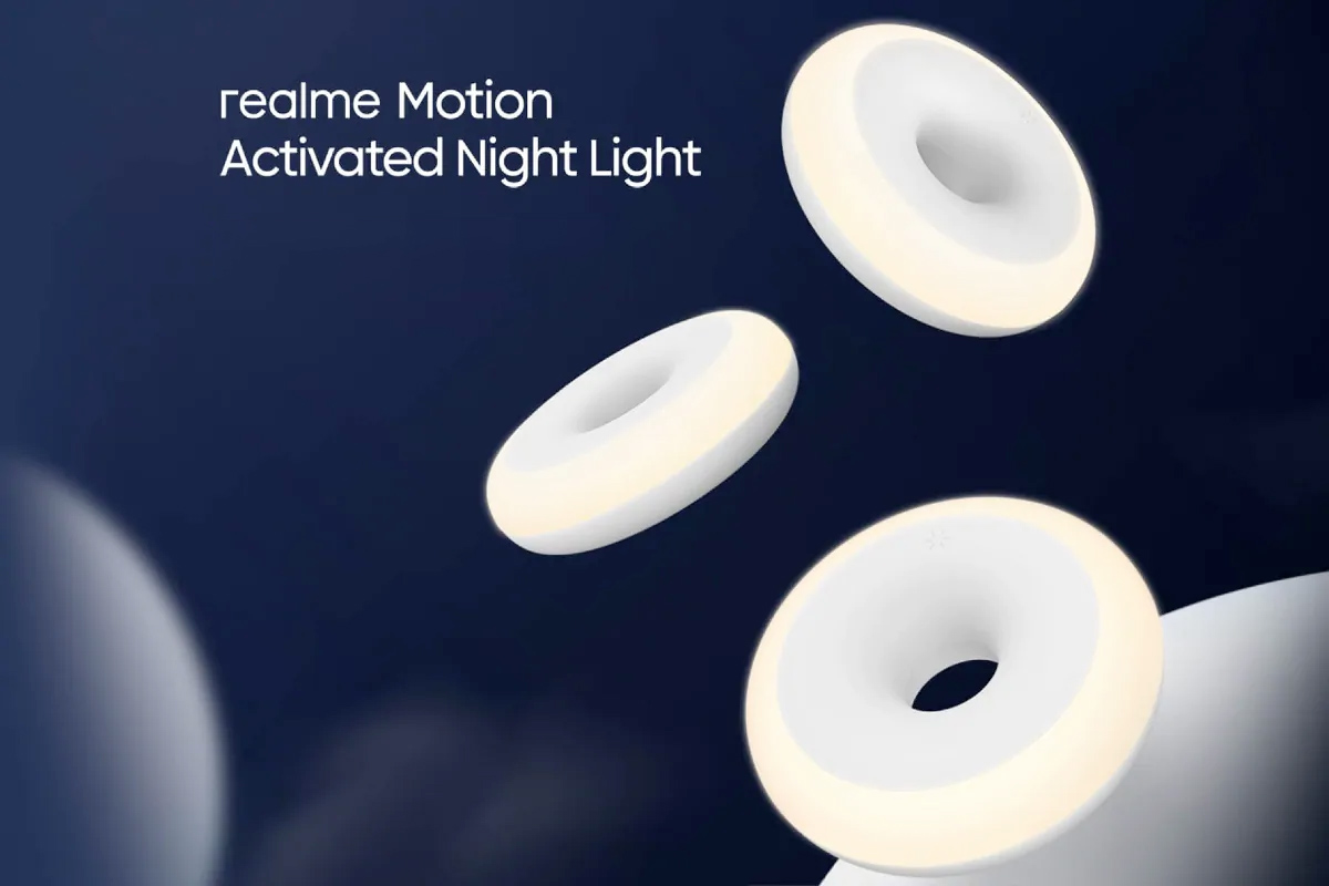 Luz Noturna Realme Motion Activated Night Light