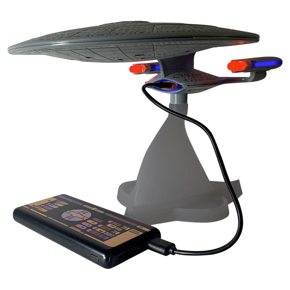 Caixa de Som Star Trek TNG USS Enterprise NCC-1701-D Bluetooth Speaker width=