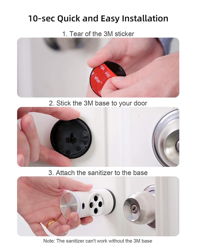 Desinfetador de Maçanetas 59S Door Handle Sanitizer