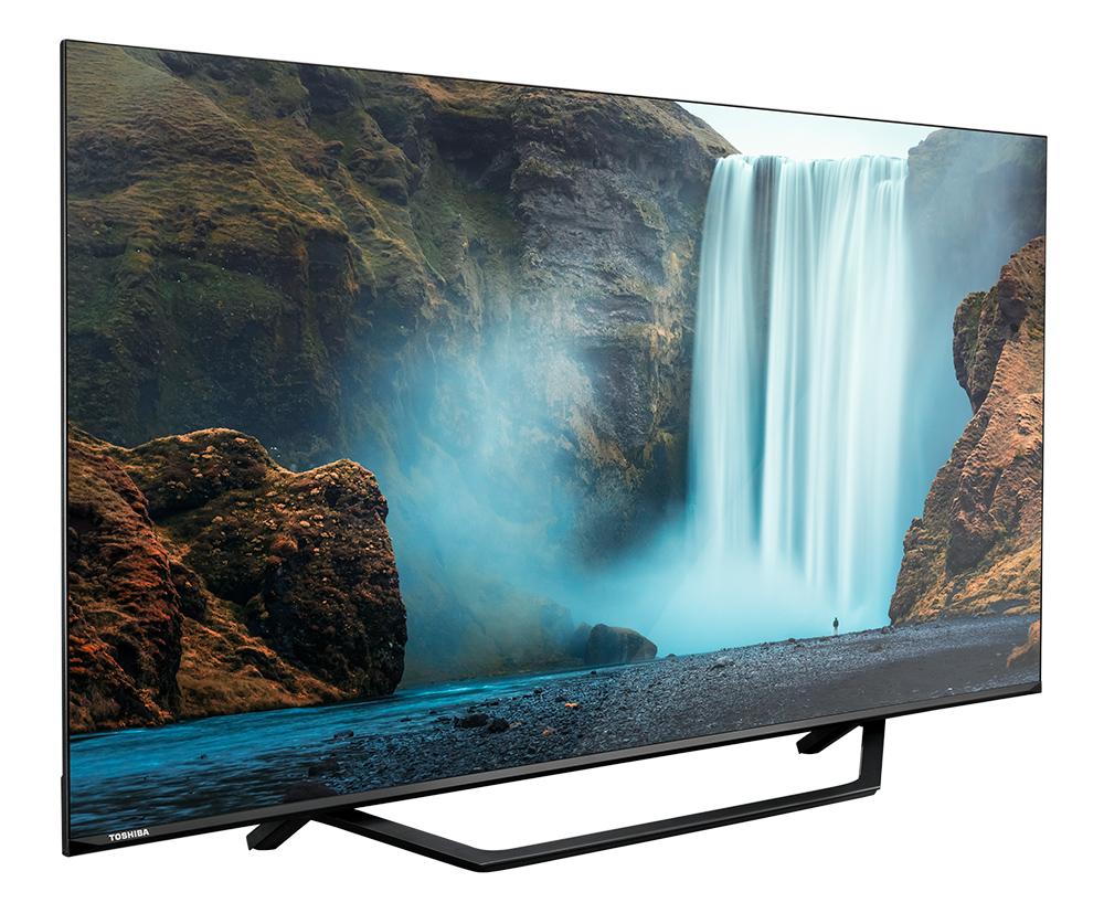 Nova TV 4K da Toshiba, que está de volta ao Brasil