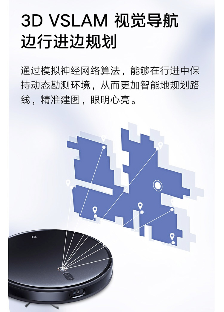 Mijia Ultra-thin Robot Vacuum Cleaner Xiaomi