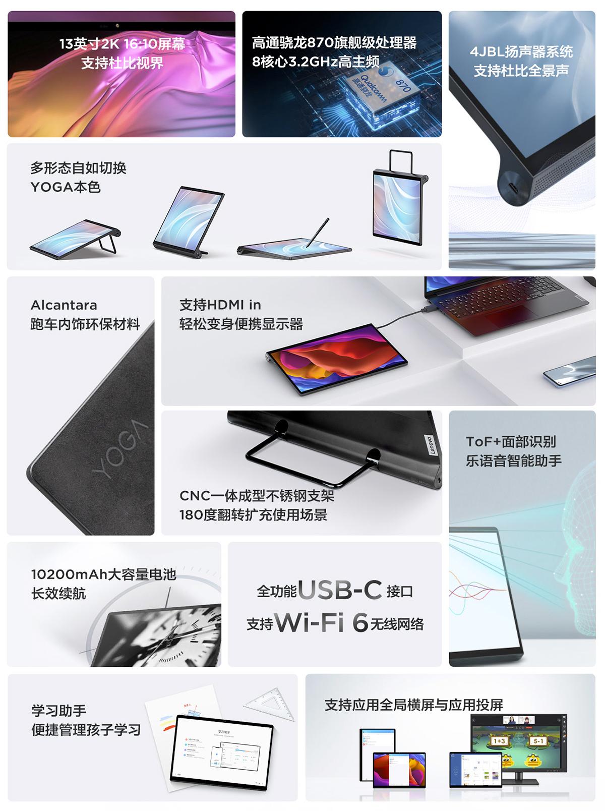 Tablet Lenovo Yoga Pad Pro 13