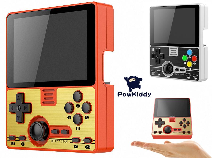 Console de Games Portátil PowKiddy RGB20 com Design Retro width=