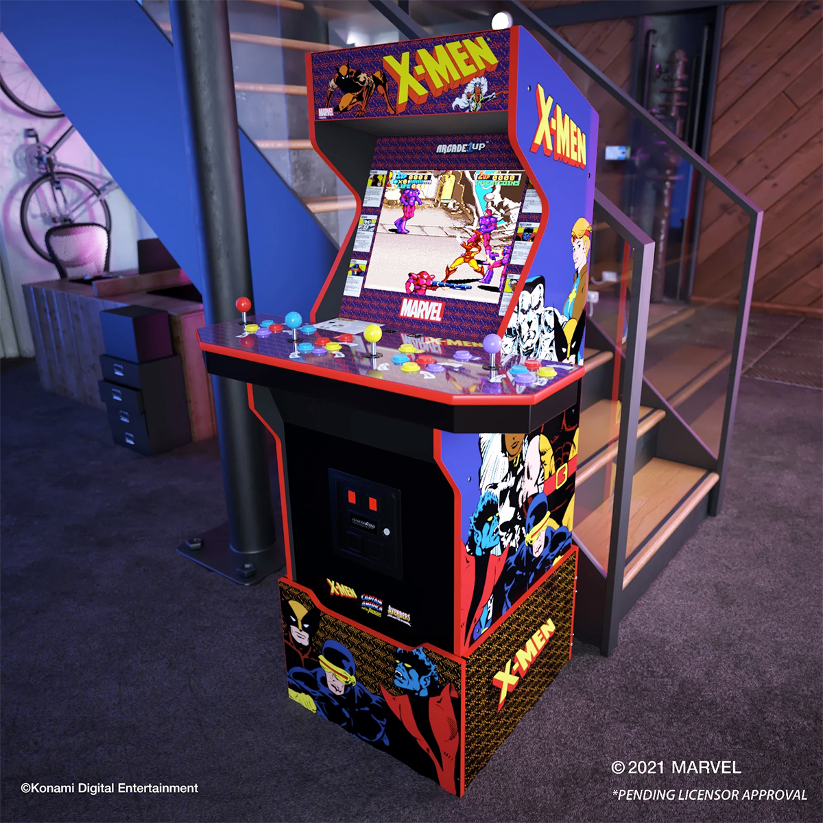 Maquina Arcade X-Men 4 Player Arcade Machine Arcade1Up