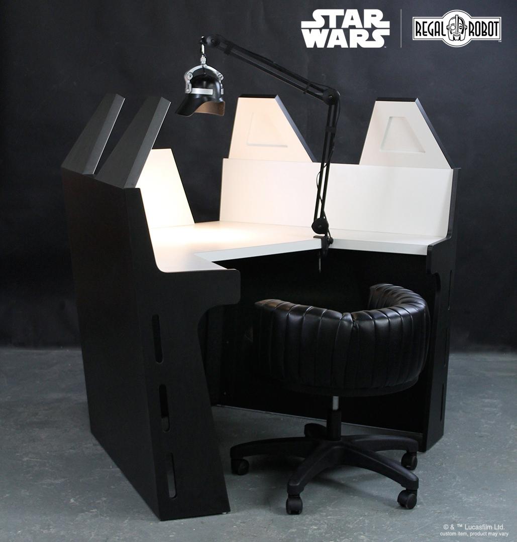 Cadeira e Mesa Star Wars: Darth Vader Meditation Chamber
