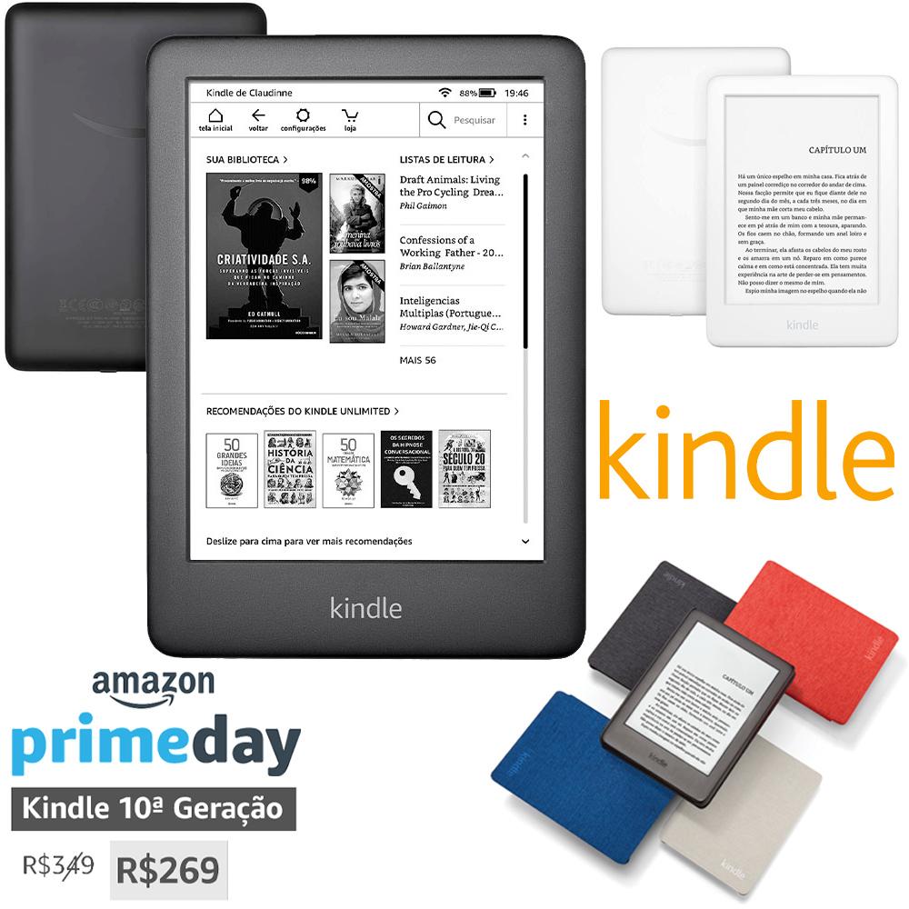 Amazon Prime Day Kindle 10a Geração
