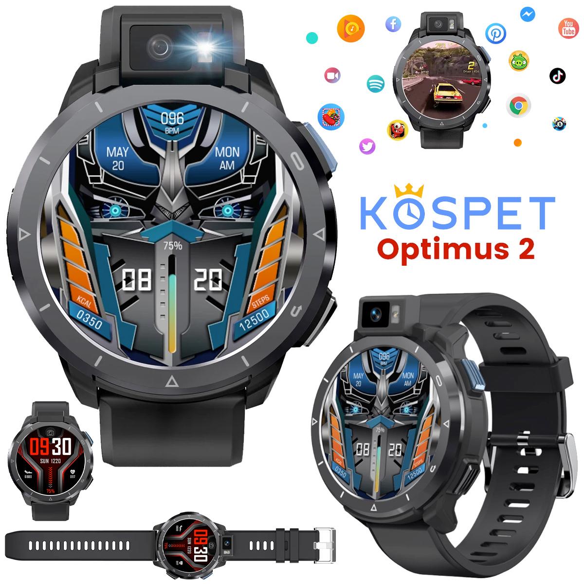 Relógio Smartwatch KOSPET Optimus 2