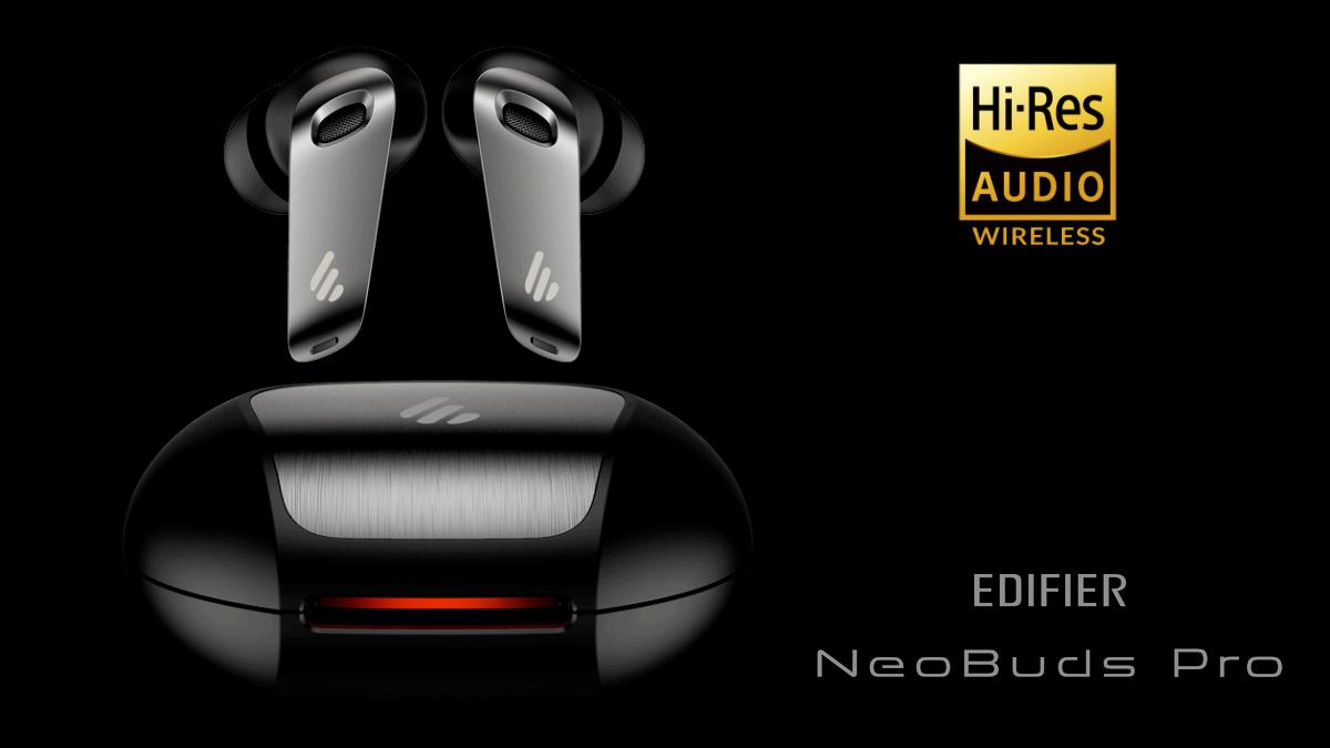 Fones de Ouvido Edifier TWS NeoBuds Pro Hi-Res ANC Earbuds