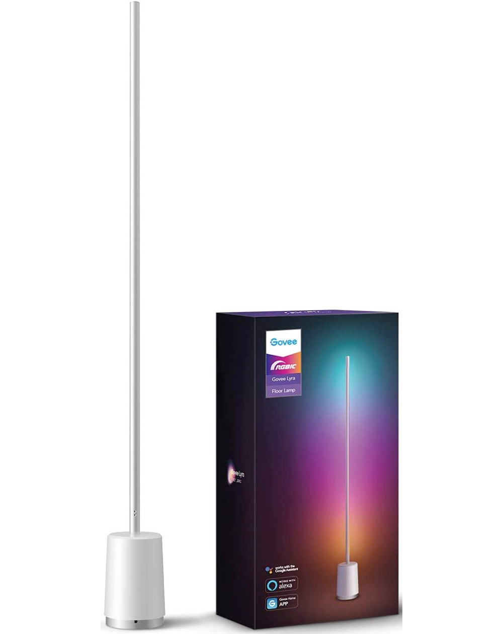 Govee Lyra RGBIC Corner Floor Smart Lamp