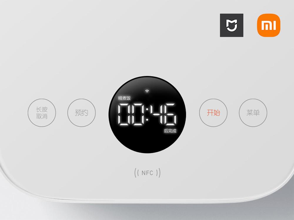 Panela Elétrica de Arroz Inteligente Xiaomi Mijia Smart Rice Cooker 3L