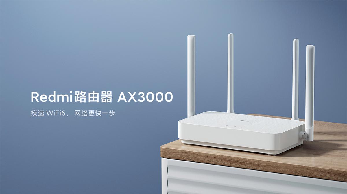 Roteador Xiaomi Redmi Router AX3000