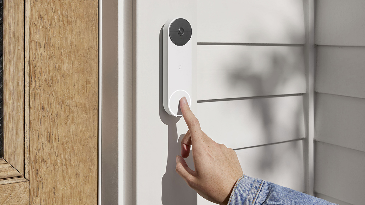 Campainha Inteligente Google Nest Doorbell Battery