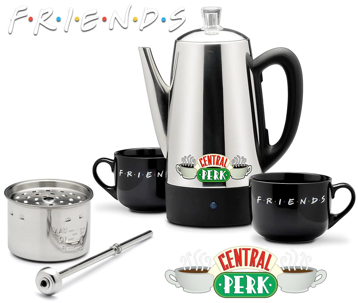 Cafeteira Elétrica Friends Central Perk