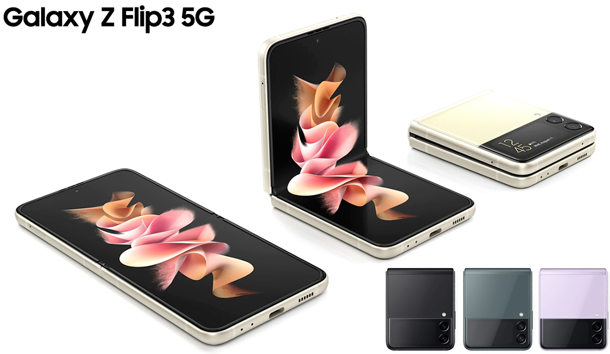 Smartphones Dobraveis Galaxy Z Samsung Flip3 e Fold3