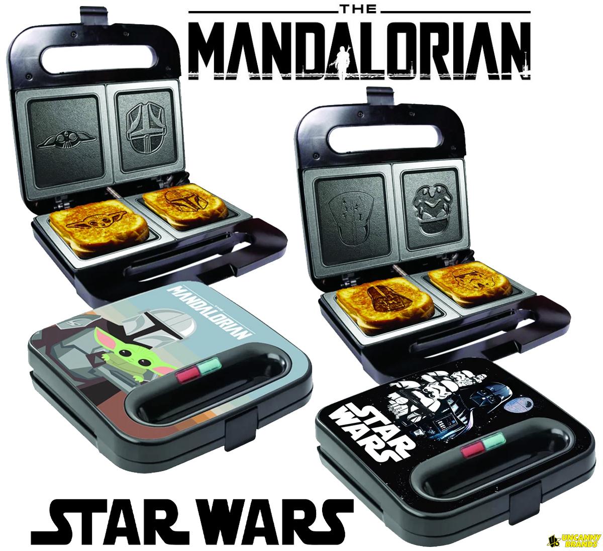 Sanduicheiras Star Wars e Mandalorian Grilled Cheese Maker