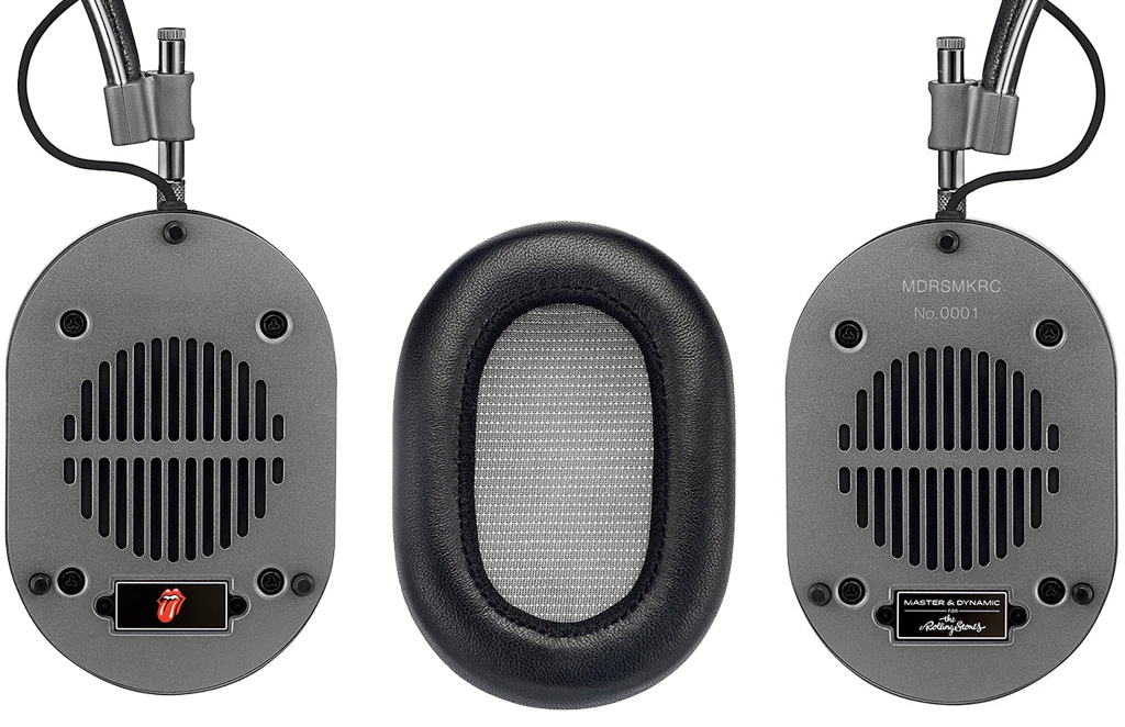 Fones de Ouvido Rolling Stones MH40 Master & Dynamic Headphones