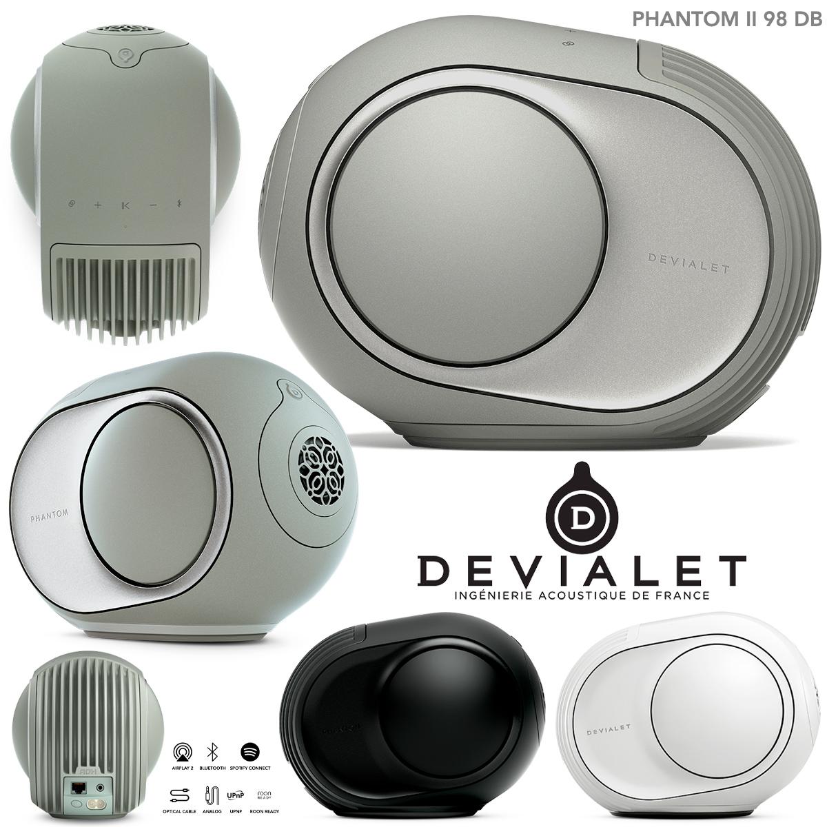 Caixa de Som Devialet Phantom II Sage Green 98 DB Speaker