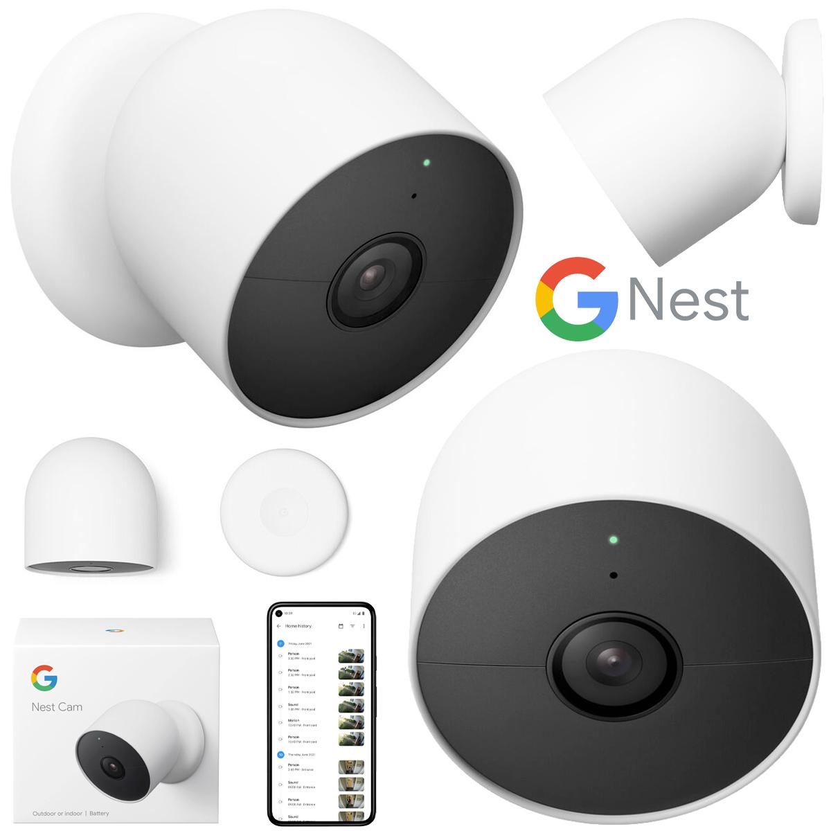 Câmera de Segurança Google Nest Cam