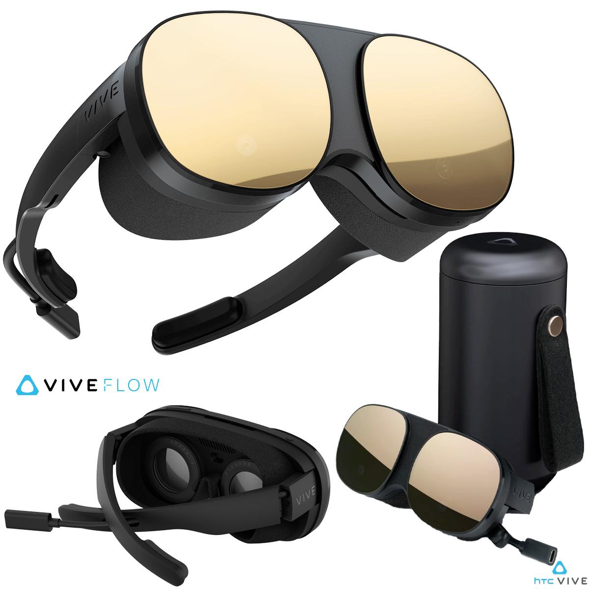 Vive Flow VR Headset da HTC com design de óculos de sol miniatura