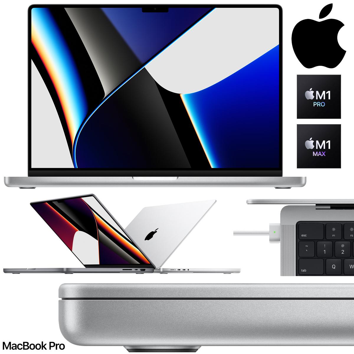 Novo MacBook Pro com novos chips M1 Pro ou M1 Max, tela mini-LED e MagSafe miniatura