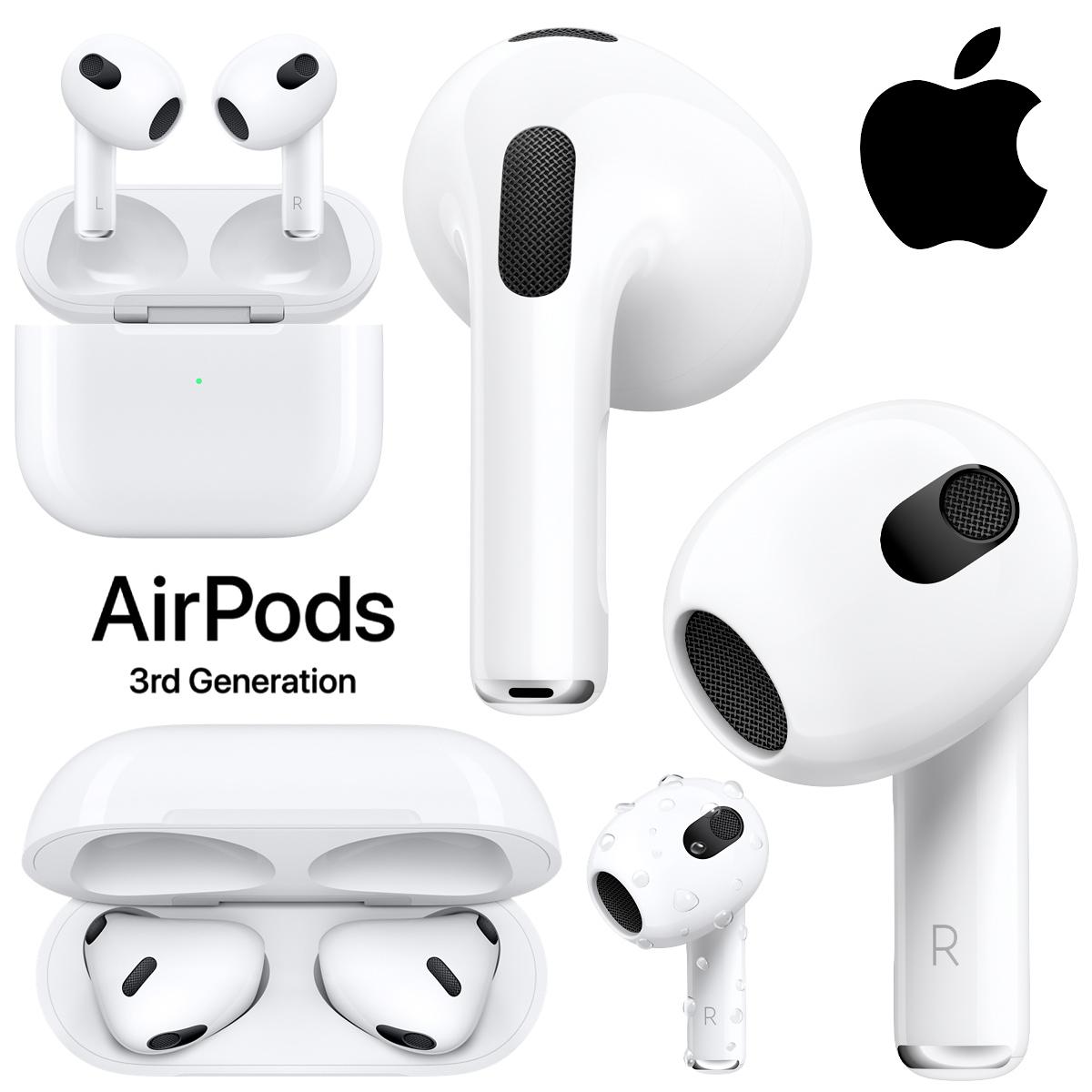 AirPods de 3ª geração, os novos fones de ouvido da Apple miniatura