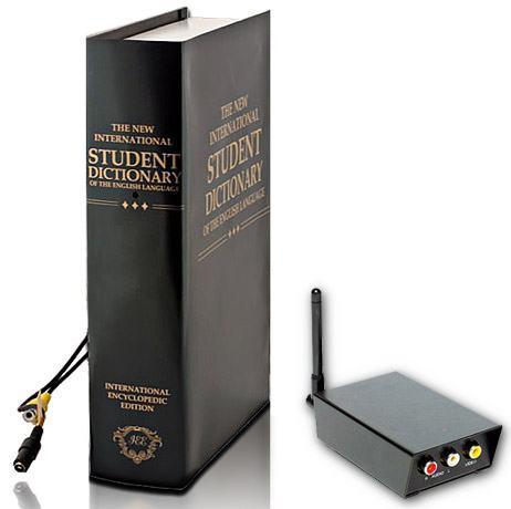 Livro Espião com Câmera Escondida!