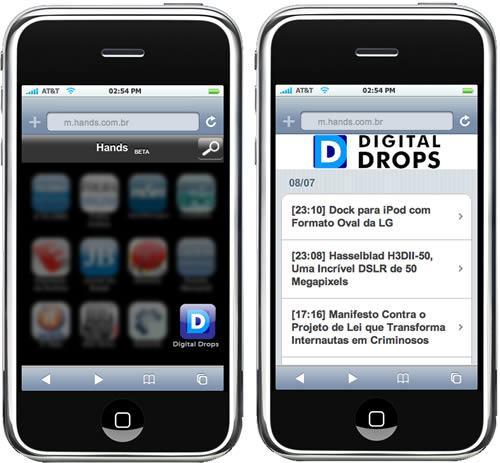 Digital Drops no Portal Hands do iPhone!