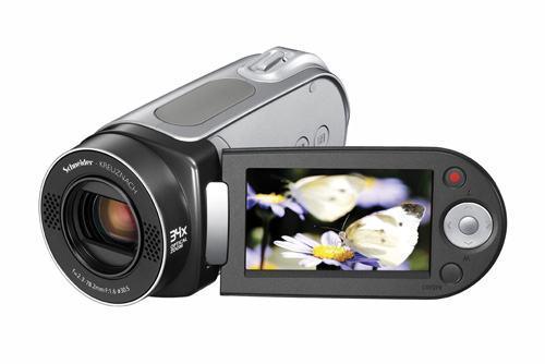 Câmera de Vídeo Samsung Compatível com YouTube
