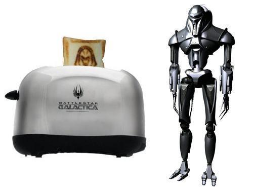 Torradeira Cylon Para Fãs do Battlestar Galactica