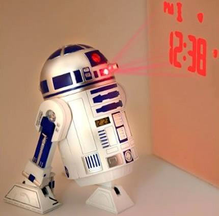 Relógio Projetor R2-D2