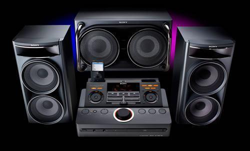 Atenção DJs: Sony XROSS Fade com Dock Duplo para iPods