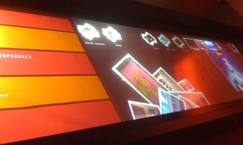 Mesa Multi-Touch é o Grande Destaque do Oi Futuro Experience