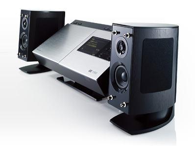 Sistemas de Som da Panasonic com HD de 80GB
