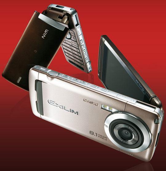Casio W63CA, Uma Câmera de 8.1 Megapixels com Celular!