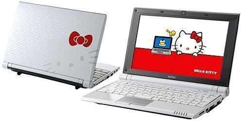 Direto do Japão o Netbook da Hello Kitty