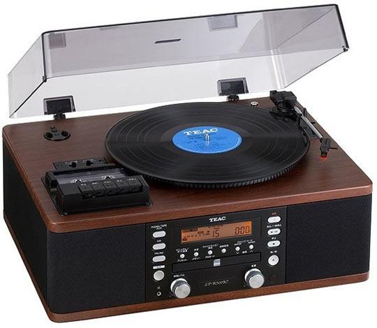 Em Algum Lugar do Passado: Toca Discos com CD Player da Teac