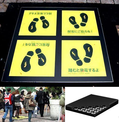 Uma Plataforma que Aproveita a Energia Gerada pelos Passos dos Pedestres