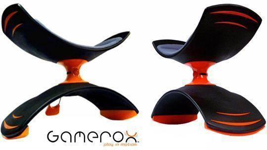 Gamerox, Uma Cadeira para Gamers que se Move em 3 Eixos