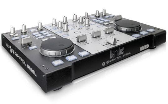 Hercules DJ Control Steel, Um Deck Duplo de Mixagem