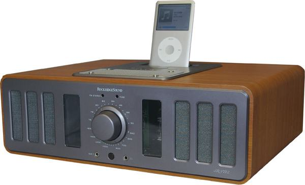 Amplificador de Válvulas da RockRidge com Dock para iPod