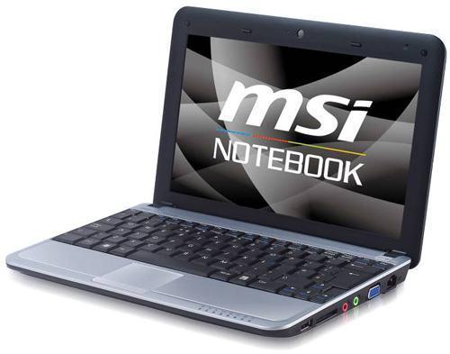 MSI U115, Um Netbook Híbrido com um HD de 160GB e um SSD de 16GB!
