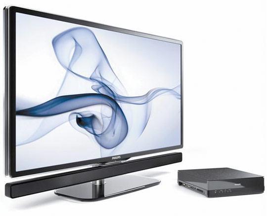Philips Essence, Uma HDTV LCD de 42″ com Speaker Bar