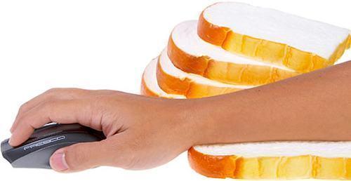 Proteja seu Pulso com um Pão de Forma!