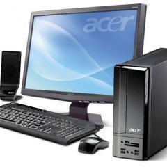 """Acer Aspire X1700, Um Desktop Compacto com Monitor FullHD de 23"""""""
