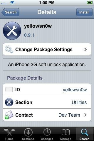Presente de Ano Novo do Dev-Team: O Tão Sonhado Unlock do seu iPhone 3G!!!