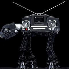 Boomboxes R2-D2 e AT-AT, Só para Fanáticos por Star Wars