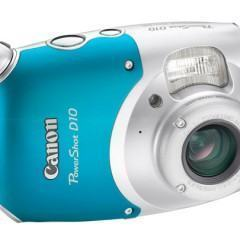 Canon PowerShot D10: A Prova d'Água até 10 Metros de Profundidade!